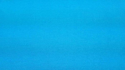 Twill Fabric In Turquoise Poly/Cotton - Christina's Fabrics Online Superstore