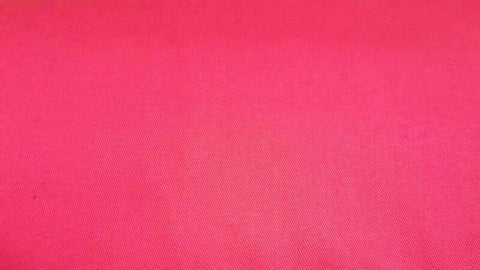 Twill Fabric In Hot Pink Poly/Cotton Blend - Christina's Fabrics Online Superstore