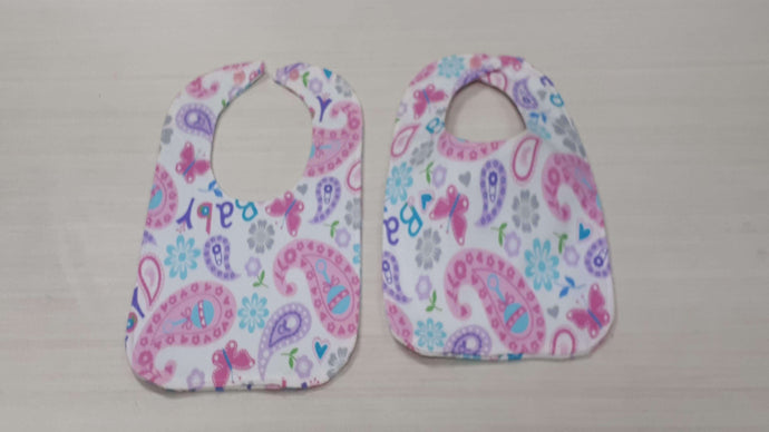 Bibs And Burp Cloths - Shower Gift Set Flannel Gift Set Christina's Fabrics Online Superstore