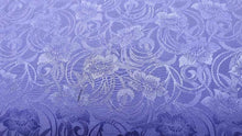 Load image into Gallery viewer, Cotton Blend Fabric Purple Brocade Christina's Fabrics - Online Superstore