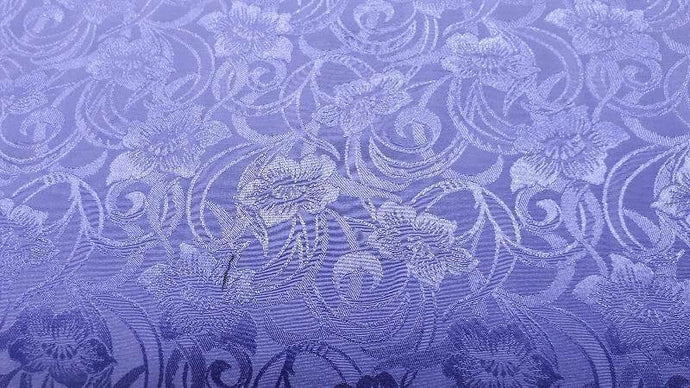 Cotton Blend Fabric Purple Brocade Christina's Fabrics - Online Superstore