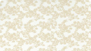 Cotton Fabric In Cream Birds And Berries - Christina's Fabrics Online Superstore