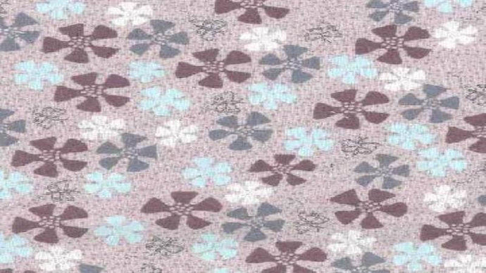 Cotton Fabric In Light Pink Dancing in the Blossom - Lecien Fabrics- Christina's Fabrics Online Superstore