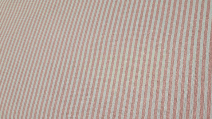 Cotton Fabric in Pink/White Stripes (3 left) Cotton Prints Christina's Fabrics - Online Superstore