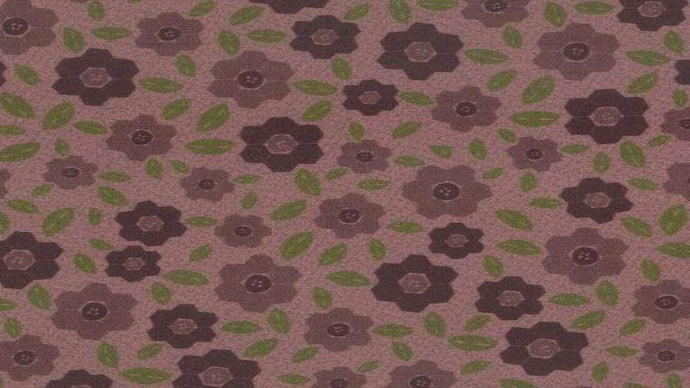 Cotton Fabric In Rose - One Stitch At A Time Cotton Christina's Fabrics - Online Superstore