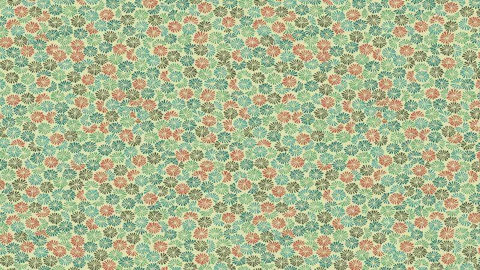 Cotton Fabric In Green Jungle Fern - Christina's Fabrics Online Superstore