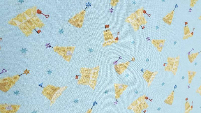 Cotton Fabric Small Things By the Sea (4 left) Cotton Christina's Fabrics - Online Superstore
