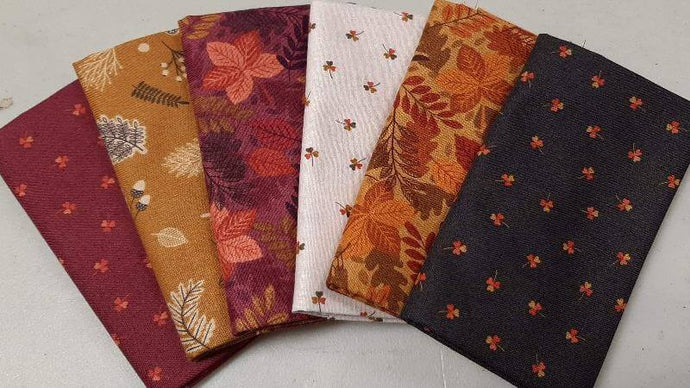 Fat Quarter Bundle Under The Oak Tree (6) - Christina's Fabrics