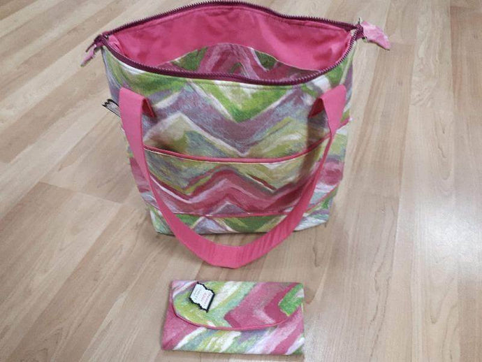Handmade Tote Bag with Lots of Pockets Handmade Tote Bag Christina's Fabrics - Online Superstore