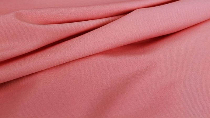 Polyester Knit Fabric In Coral Mist - Christina's Fabrics Online Superstore