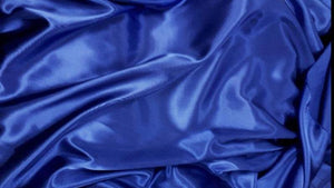 Polyester Bridal Satin Fabric - 4 Colors Blue Satin Christina's Fabrics - Online Superstore