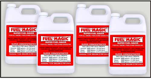 Fuel Magic - Four Gallon Case