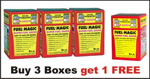 Fuel Magic - Four Boxes