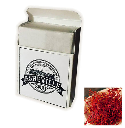 12 Pack Red Saffron Soap