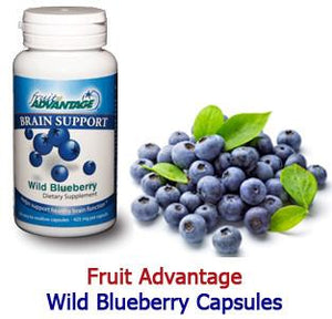 Fruit Advantage Wild Blueberry Brain Support - 30-Count