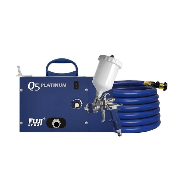 Using The Latest In HVLP Spray Technology - Introducing The Fuji Q5