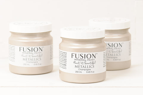 Champagne Metallic Fusion Mineral Paint