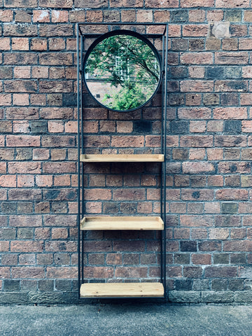 Industrial Wall Mirror Unit