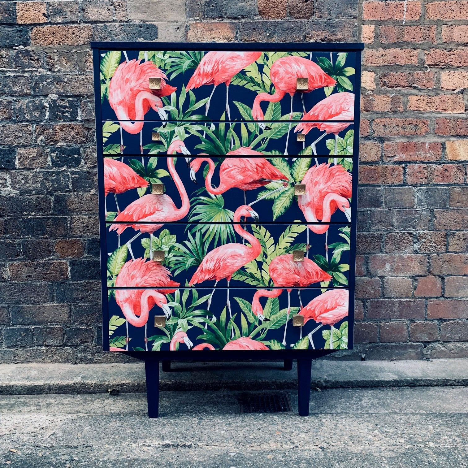 Flamingo Tall Chest of Drawers