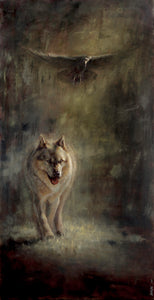 Brother Wolf - 72x36