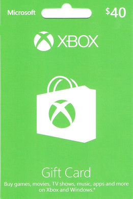 XBOX Live $40 Gift Card