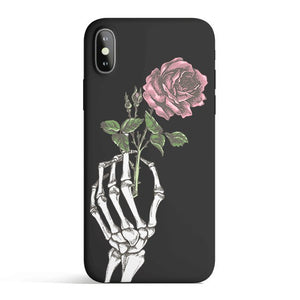 Crane Rose - Colored Candy Matte TPU iPhone Case Cover
