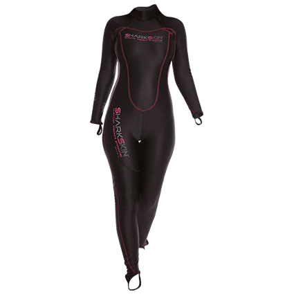 Chillproof Womens 1 Piece Suit with Back Zip