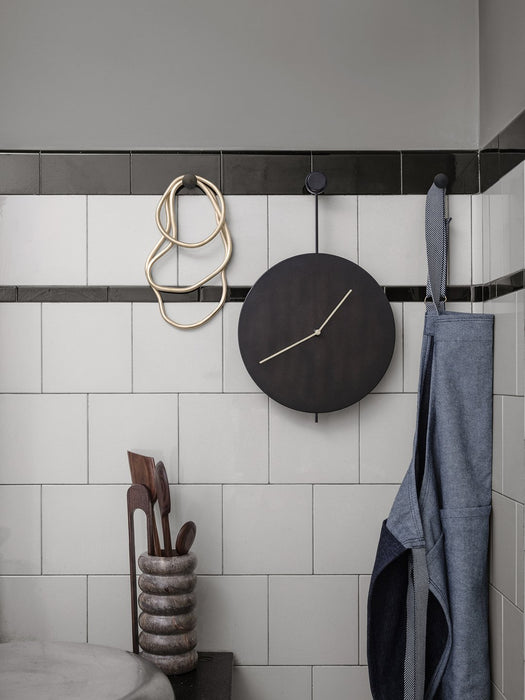 Trace Wall Clock by Ferm Living