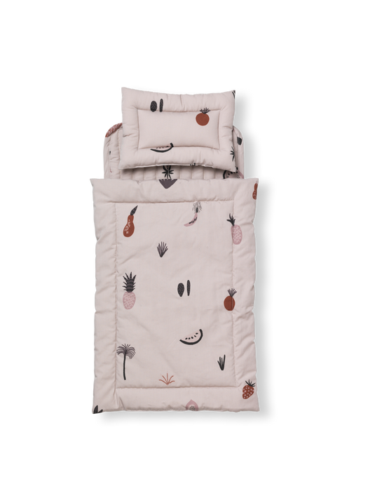 Fruiticana Doll Quilt Bedding by Ferm Living