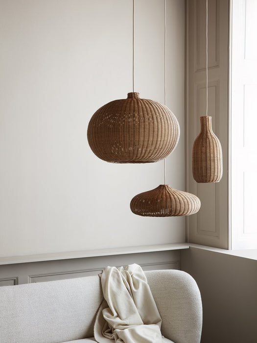 Braided Bottle Lamp Shade by Ferm Living