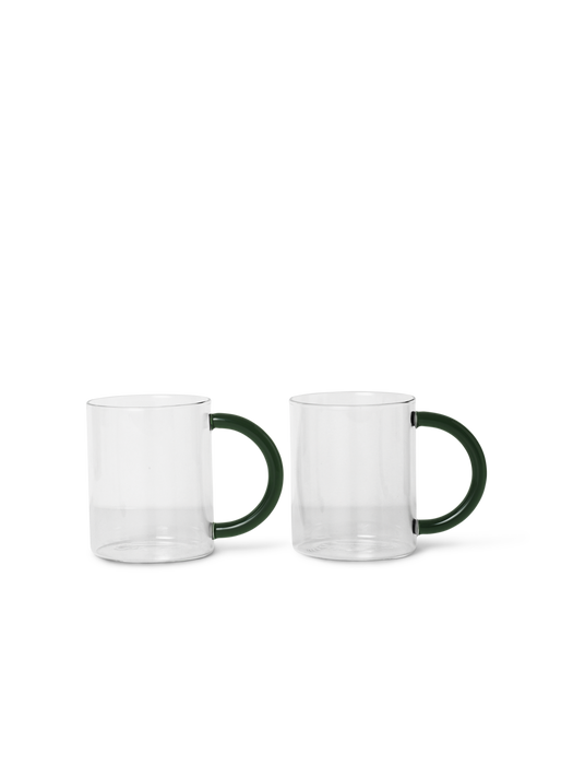 Still Mugs, Set of Two, by Ferm Living