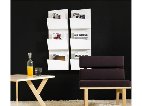 Collar Magazine and Brochure Storage by Karl Andersson & Söner