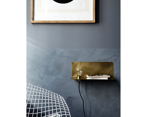 90 Degree Wall Shelf / Light by Frama Denmark