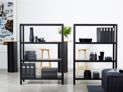 Cavetto Shelving Unit L940 with 4 Shelves by Karl Andersson & Söner
