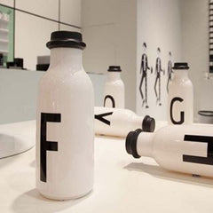 Design Letters A-Z Drinking Water Bottle