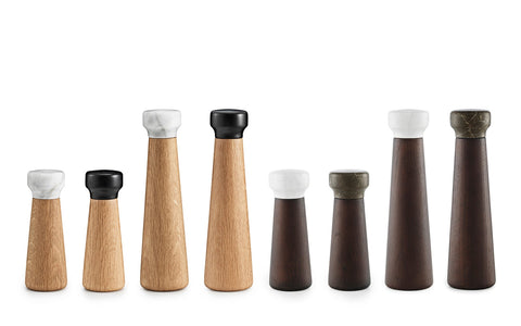 Craft Salt and Pepper Mills by Normann Copenhagen