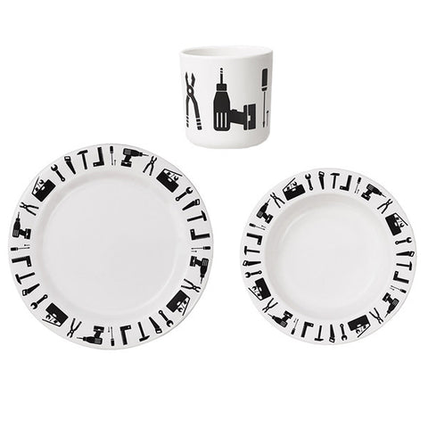 Design Letters Melamine Tool School Set