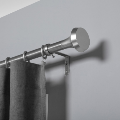 "Ella 1"" (2.5 cm) Adjustable Single Curtain Rod by Umbra"