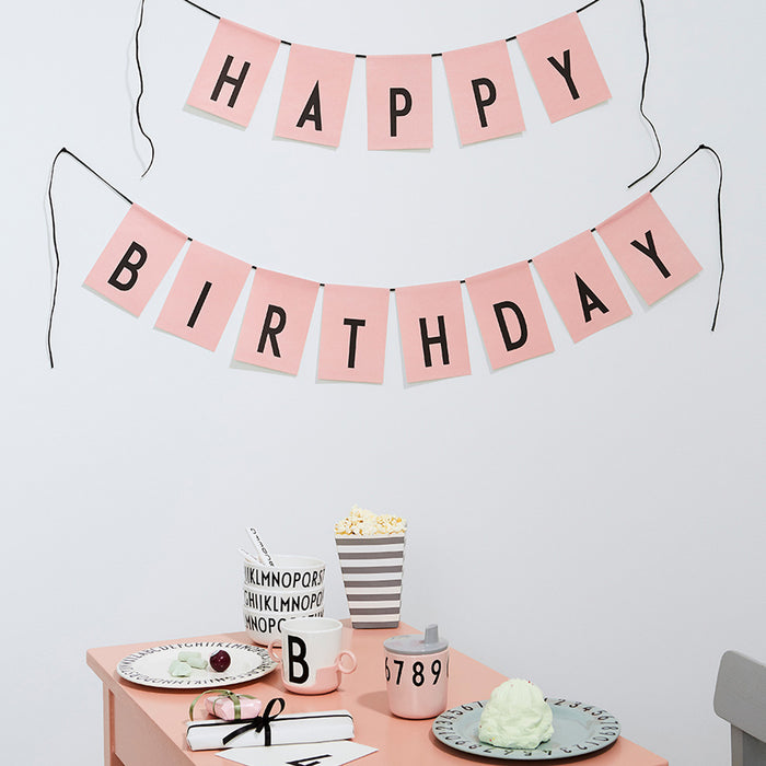 Birthday Flags by Design Letters