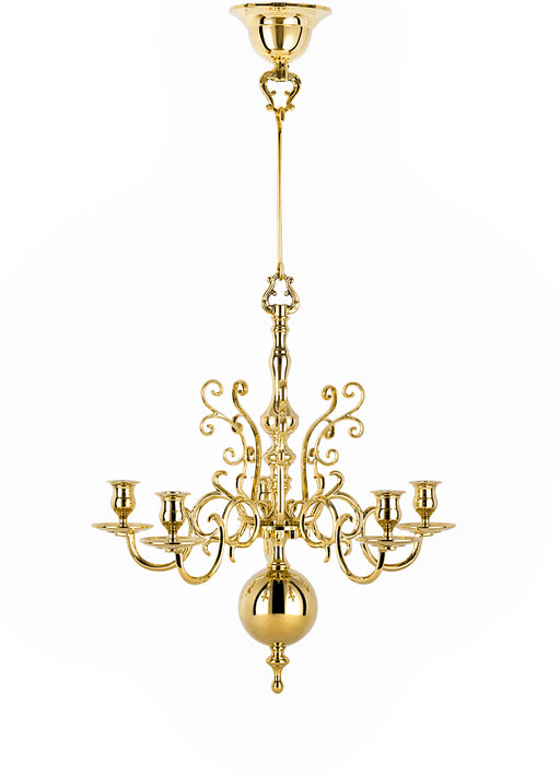 Chandelier with 5 Arms by Skultuna