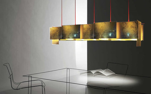24 Karat Blau M Suspension Lamp by Ingo Maurer