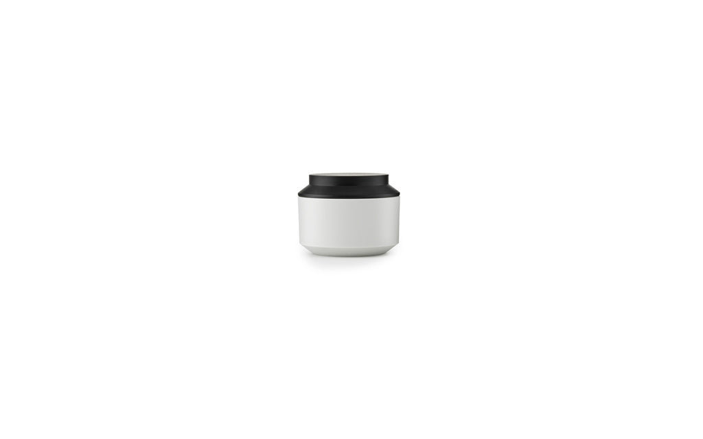 Geo Jar w. Lid Ø10 by Normann Copenhagen