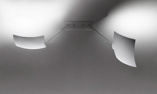 2 x 18  x 18 Ceiling Lamp by Ingo Maurer