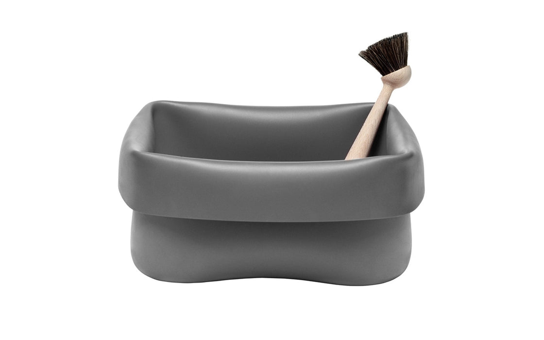 Washing-up Bowl & Brush by Normann Copenhagen