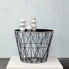 Wire Baskets & Side Tables by Ferm Living (Basket Top)