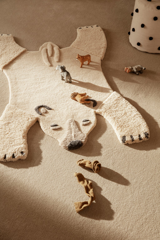 Animal Tufted Polar Bear Rug by Ferm Living
