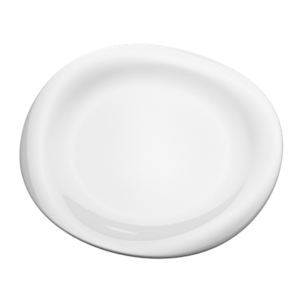Cobra Dinner Plate by Georg Jensen
