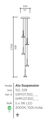 Alo Suspension by VISO (Made in Canada)