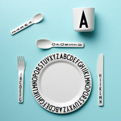 Arne Jacobsen Melamine Letters Cup by Design Letters