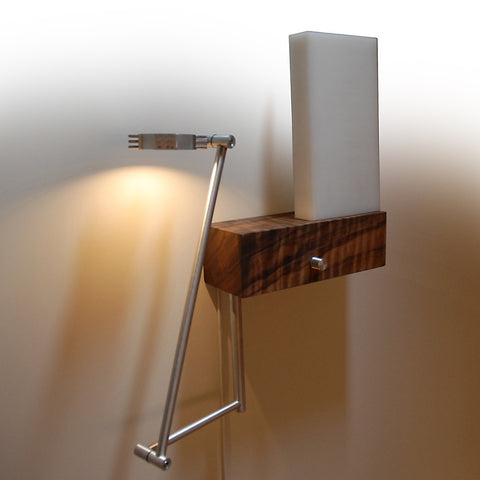 Cerno Cubo Wall Sconce / Bedside Lamp Made in USA